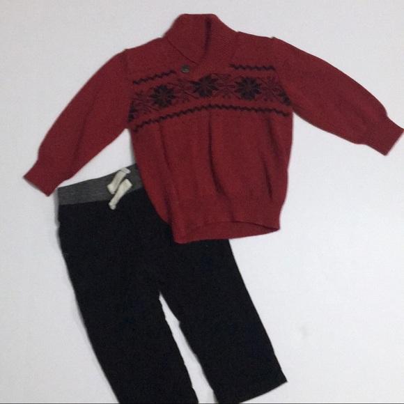 NWT Gymboree HOLIDAY Mixed Set Sz L 10 12 Top Sweater Jacket Bottoms Pants